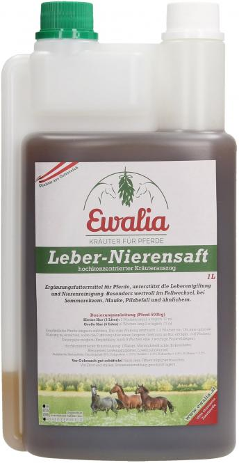 Ewalia Leber-Nieren Saft 1 Liter